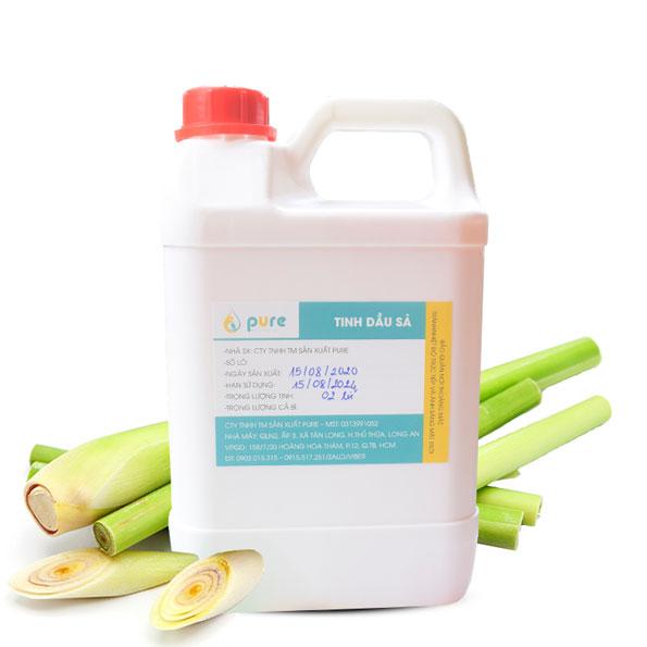 Tinh dầu Sả 1 lít nguyên chất