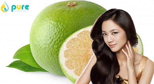 6 cách sử dụng tinh dầu bưởi chống rụng tóc hiệu quả