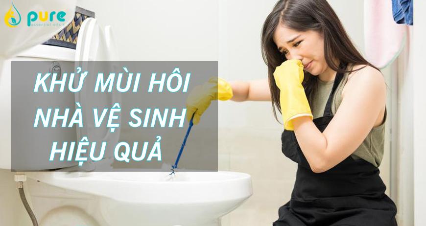 Những cách khử mùi hôi nhà vệ sinh hiệu quả bất ngờ