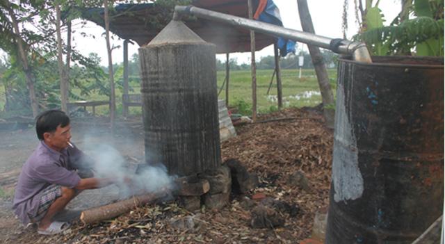 Cách nấu dầu tràm