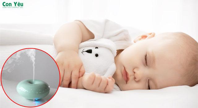 Có nên xông tinh dầu tràm trong phòng ngủ của trẻ không