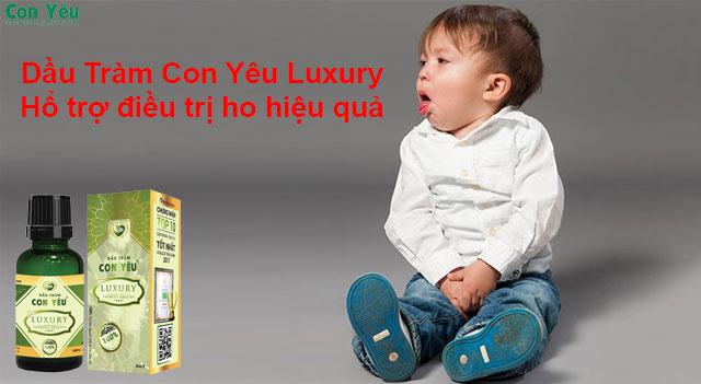Dầu tràm Luxury trị ho được không – Dầu Tràm Con Yêu Luxury