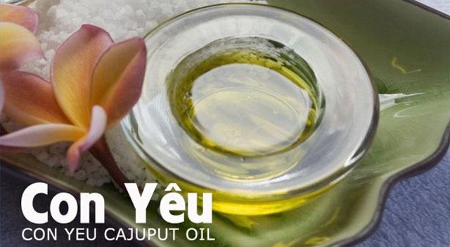Thành phần của dầu tràm Con Yêu, công thức, cách chế biến và cách sử dụng