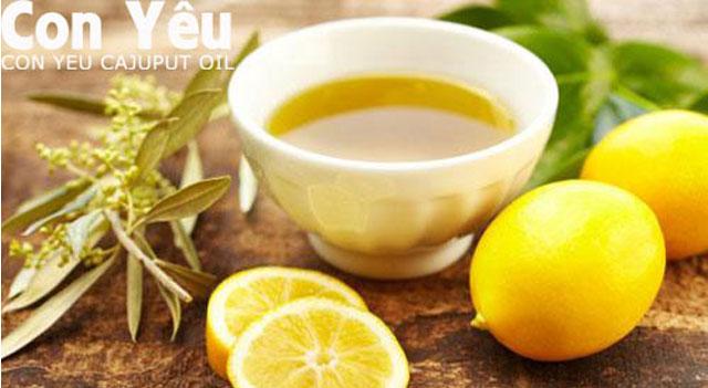 Tác dụng kháng khuẩn tuyệt vời của tinh dầu tràm.