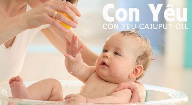 Tinh dầu tràm có dùng được cho trẻ sơ sinh ?