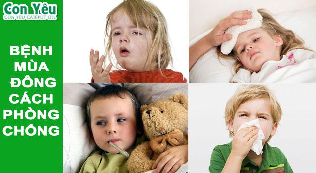 Mách mẹ dùng dầu tràm bảo vệ con yêu mình khỏi các bệnh mùa đông (ho, cảm cúm, sổ mủi, cảm lạnh…)