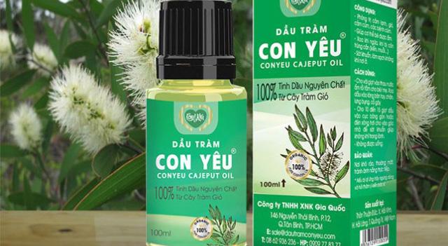 """Người tiêu dùng đã """"ưa"""" dầu tràm Con Yêu thương hiệu Việt"""