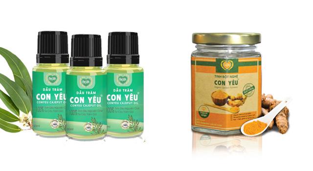 Cách sử dụng dầu tràm và tinh bột nghệ sao cho hiệu quả nhất?