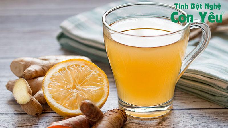 Cách uống nghệ mật ong