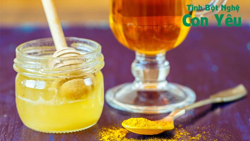 Cách uống nghệ với mật ong