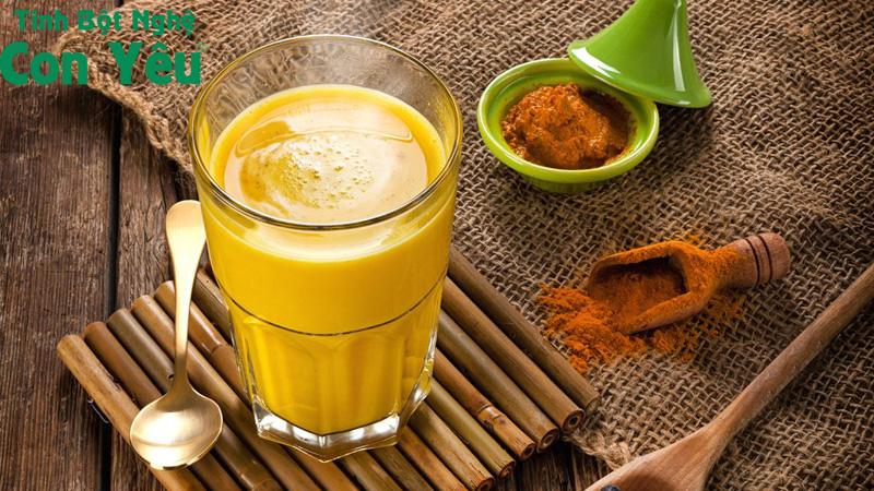 Cách uống tinh bột nghệ chữa đau dạ dày