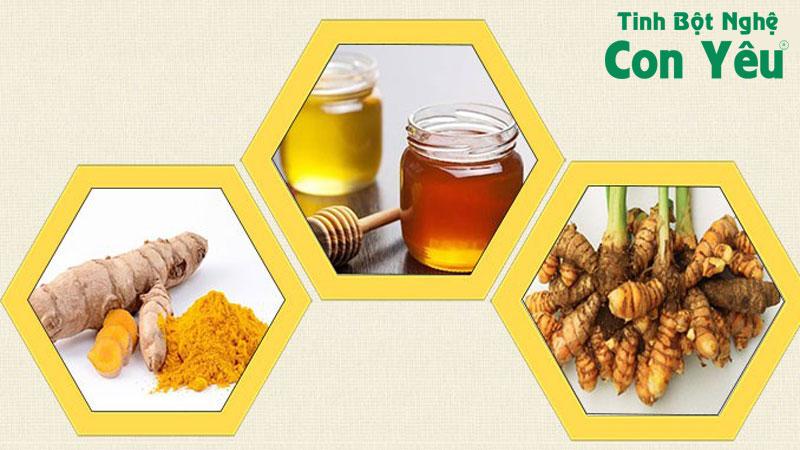 Uống tinh bột nghệ với mật ong có tốt không